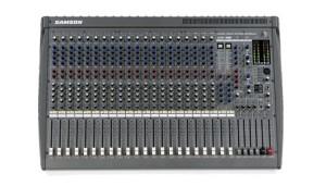 """• Mesa de som profissional com 24 canais • 2 processadores de efeitos digitais de 24 Bits com 100 programas • 16 entradas balanceadas mic/line + 2 canais mic/estéreo + 2 canais estéreo • Inserts nos canais mic/line • EQ de 3 bandas para todos os canais mono (sweep nos médios) • EQ de 4 bandas para os canais estéreos • 6 saídas auxiliares (ajustáveis em até 8) • Controle de pan, solo e mute por canal • Fader de 100mm em todos os canais, grupos retornos de efeitos e main mix • 4 Sub grupos com saídas diretas e inserts • 4 retornos de auxiliar • Saída mono out com insert + fones, 2Track / rec out e USB • Saída main out com insert (fader de 100mm) • Led medidor de sinal (main mix, grupos e PFL/AFL) • Phanton Power para todos os canais • Talkback • XLR e 1/4"""" estéreo (saídas main) • Saída XLR mono com filtro low pass ajustável (para saída de subwoofer) • Interface USB I/O integrada - (gravação fácil da performance em seu computador ou fácil acesso a plugins e playbacks) • Alimentação: AC 120V/230V/240V, 50/60Hz • Consumo de energia: 60W • Dimensões: 798mm x 159mm x 533mm • Peso: 16,2 kg  • Nível Máximo de Saída (0.5% THD em 1kHz) +24dB (MAIN L/R) em 10KΩ + 20dB (INSERT) em 10KΩ + 20dB (GRUPO, AUX/EFX, CONTROL ROOM) em 10KΩ Acima de 100mW (HEADPHONES) em 33kΩ  • Resposta de Frequência: 20Hz ~ 20kHz, +1/-2 dB (MIX L/R, GRUPO, AUX/EFX SEND) em 10kΩ  • Crosstalk (em 1kHz): -70dB entre canais de entrada -70dB entre canais de entrada/saída  • Controle de Ganho (entrada mono): 44dB variável (-50dB ~ -6dB), (-30dB ~ +14dB)  • Ganho (entrada estéreo): 40dB variável (-20dB ~ +20dB)  • Filtro High Pass: 75Hz, 18dB/oitava"""