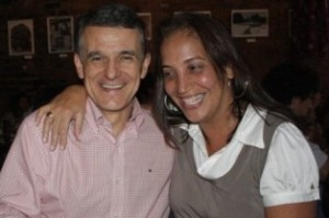 Carol Góes e Vladimir de Souza