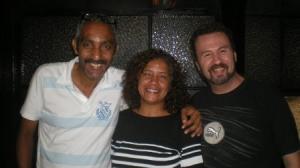 Adesman, DJ membro da Associação, Alicia Moreno e Tonny Dicarlo