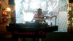 Palco da Pioneer na RMC 2010
